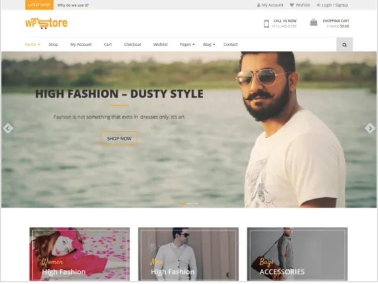 WP Store- WordPress Theme For Business