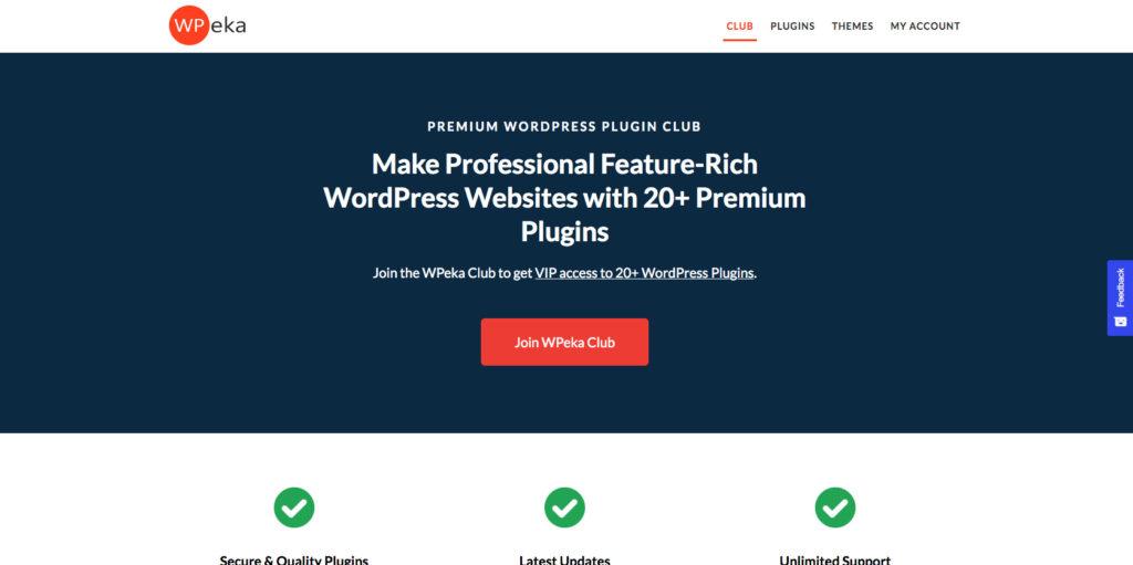 WPeka- Popular WordPress plugin club