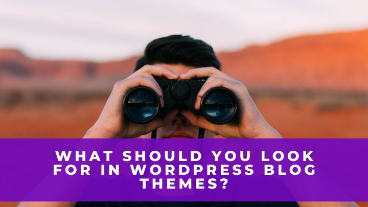 What Should You Look For in WordPress Blog Themes?