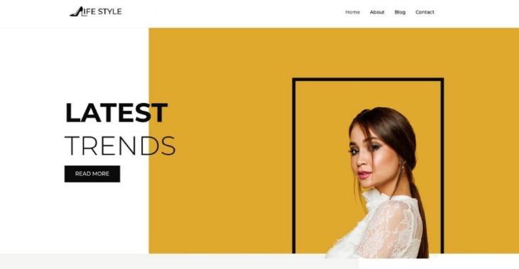 Lifestyle- WordPress beauty blog theme