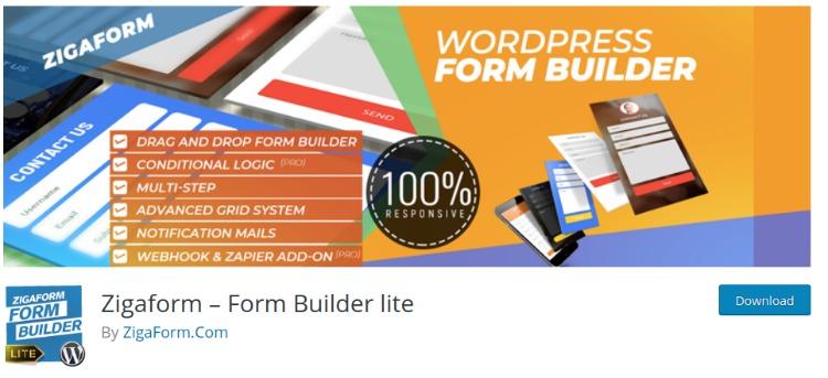 Zigaform- WordPress form plugin