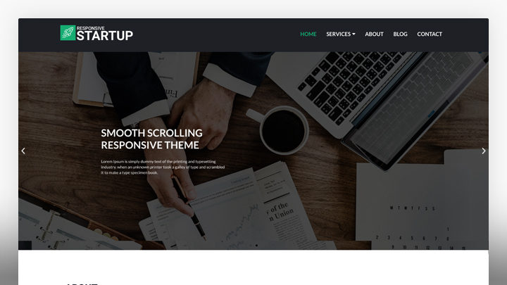 Startup Business- WordPress Theme For Business