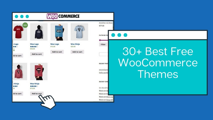 30+ Best Free WooCommerce Themes-Updated Themes For 2020