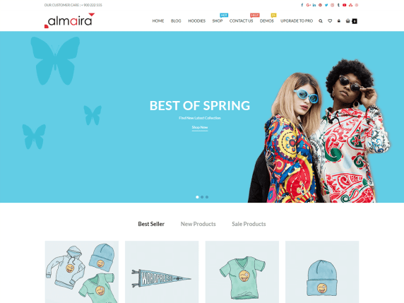 Almaira Shop- WooCommerce theme