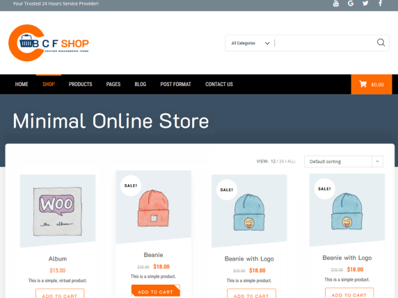 BCF Shop- WooCommerce theme