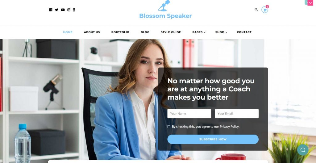 Blossom Speaker