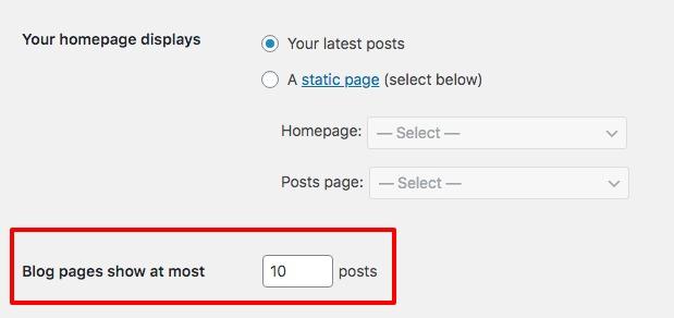 Custom WordPress pagination