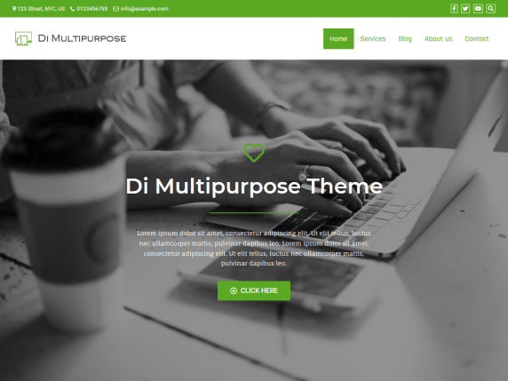 Di Mutipurpose- WooCommerce theme