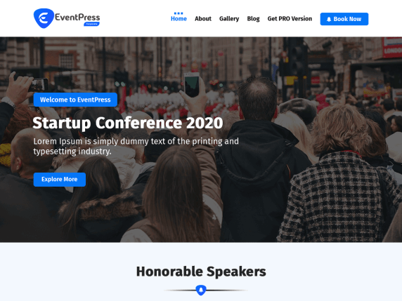 EventPress- WooCommerce theme