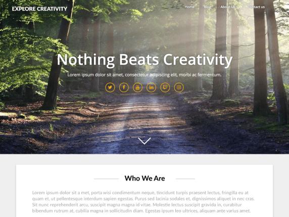 Landing Pageasy- WordPress theme