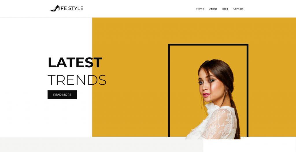 LifeStyle- Feminine WordPress theme
