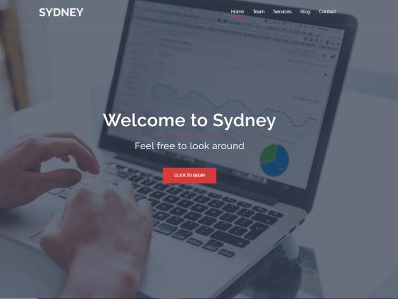 Sydney- WordPress theme
