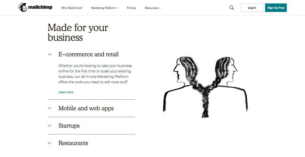 Illustration- Web design trend