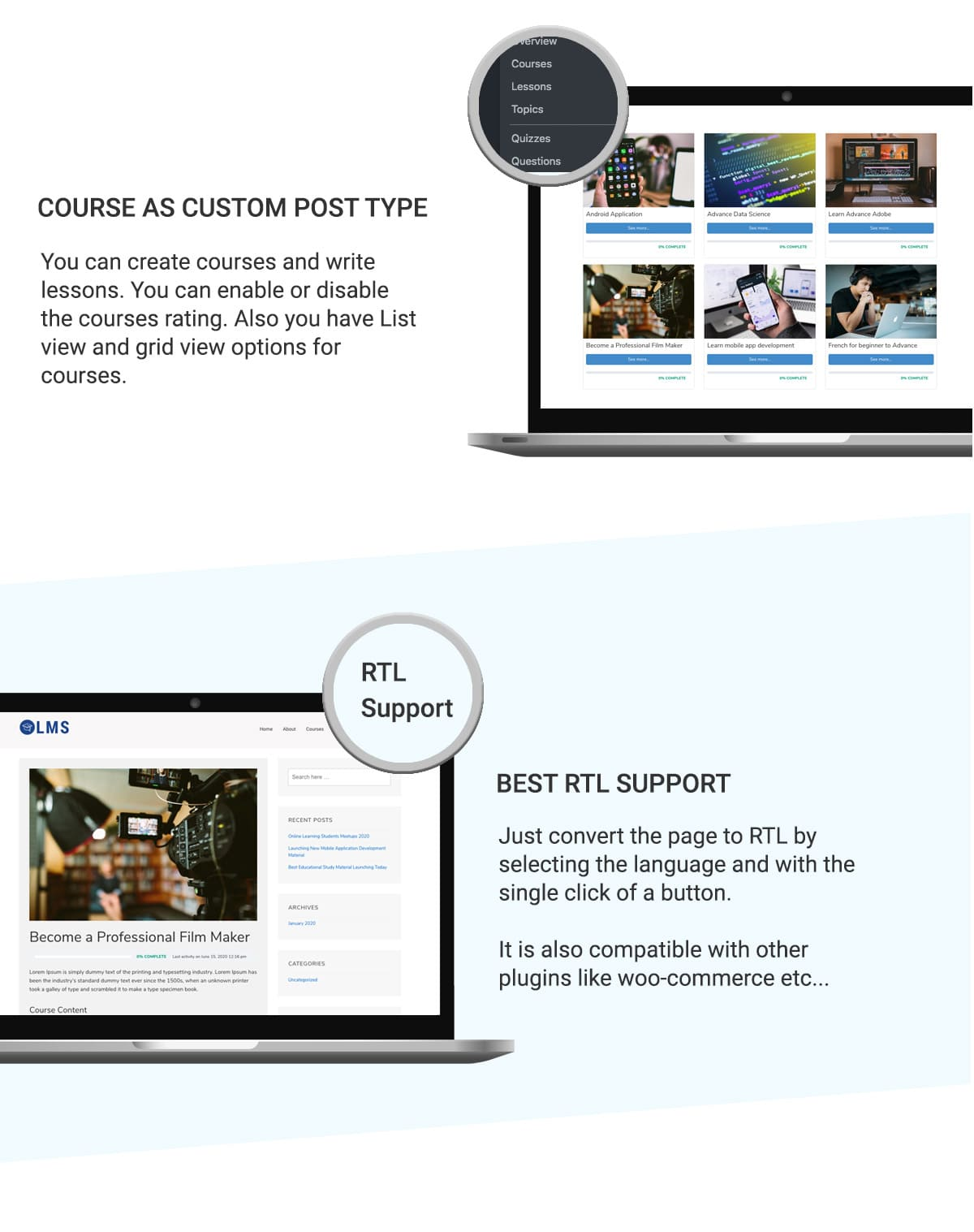 LMS WordPress Theme Banner 11