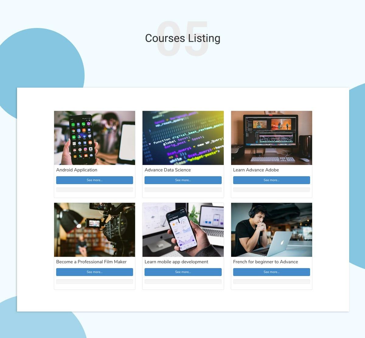 LMS WordPress Theme Banner 7