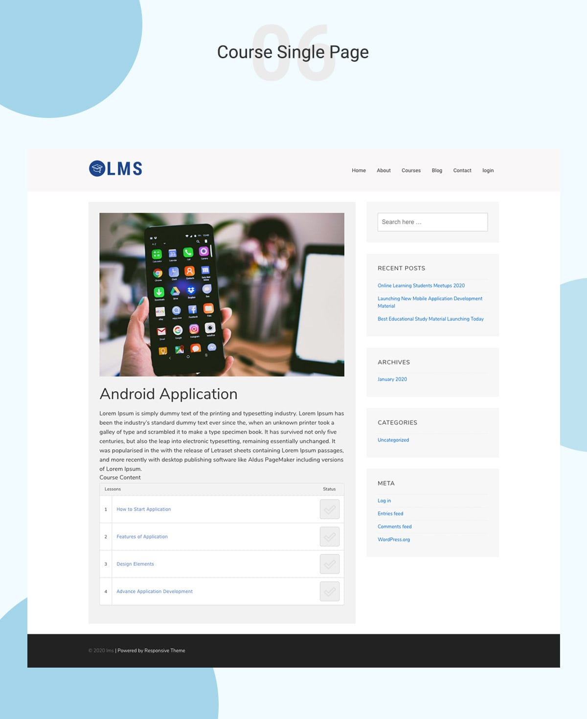 LMS WordPress Theme Banner 8