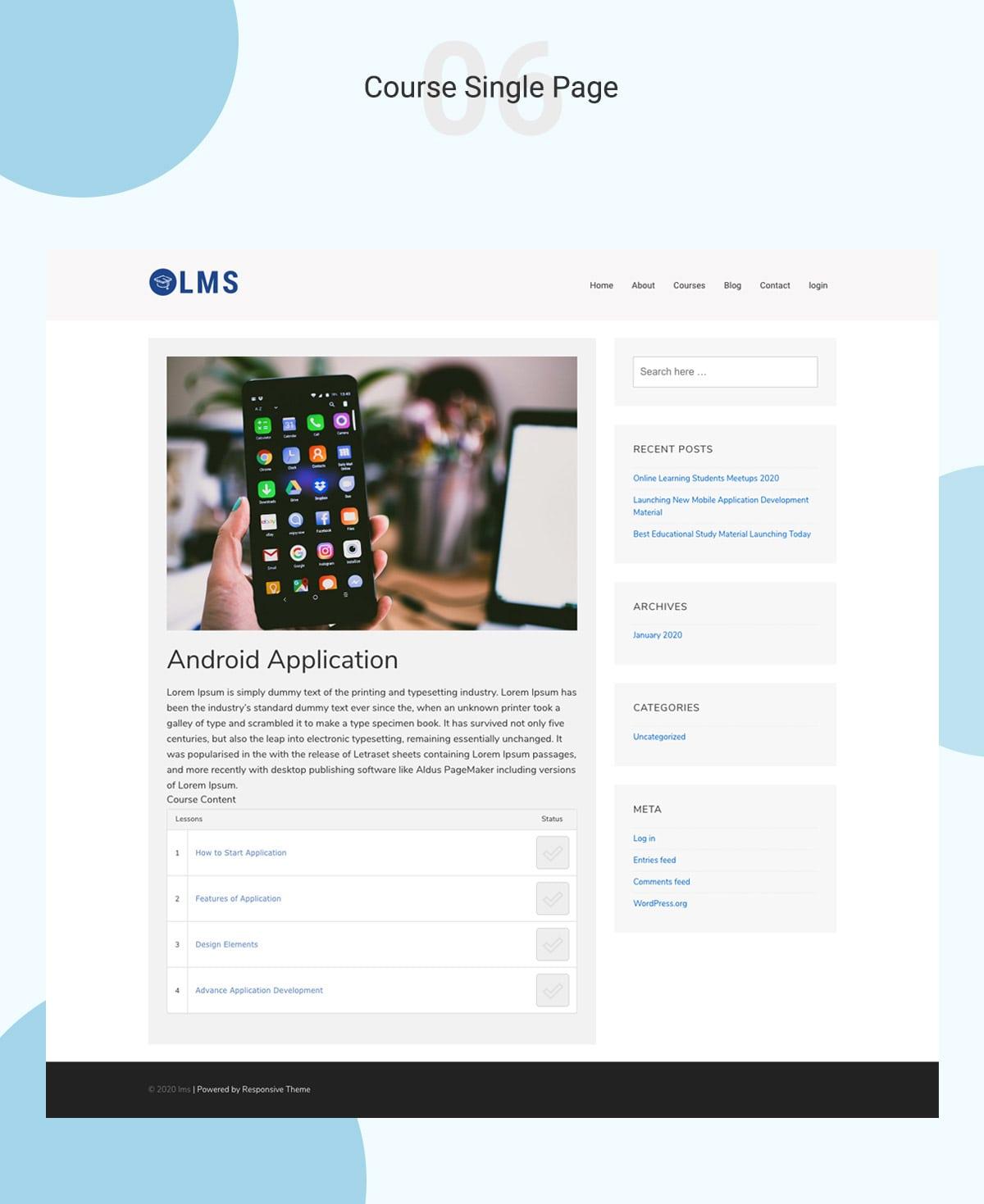 LMS WordPress Theme Banner 8