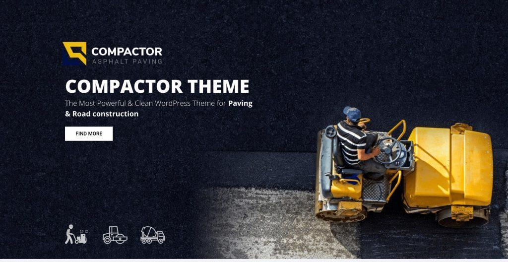 Compactor- WordPress construction theme