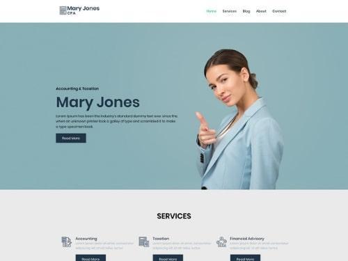 Business WordPress Theme- free WordPress account