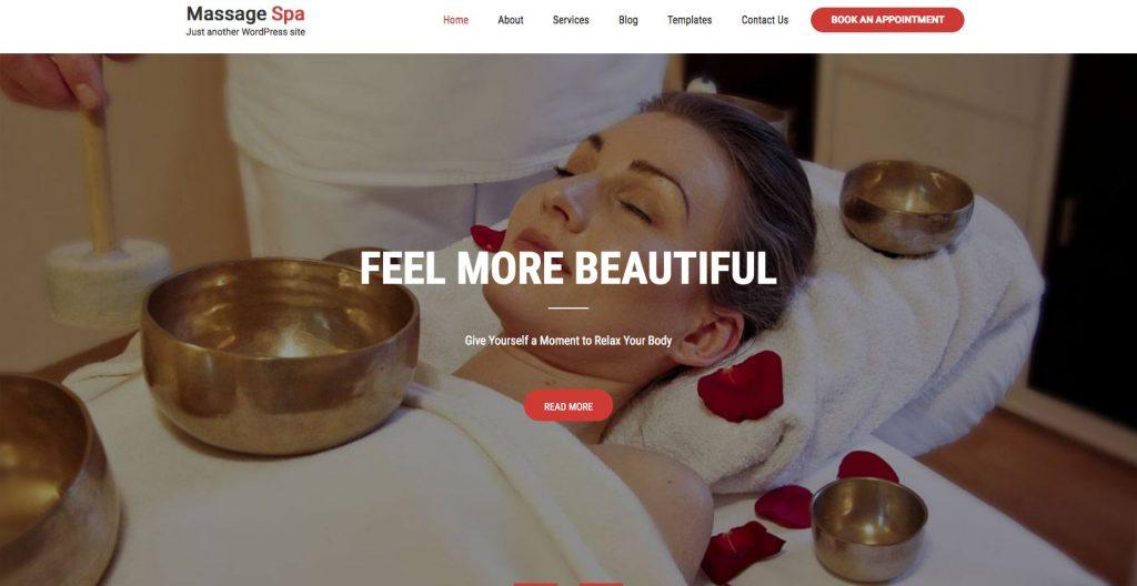 Massage Spa- WordPress theme