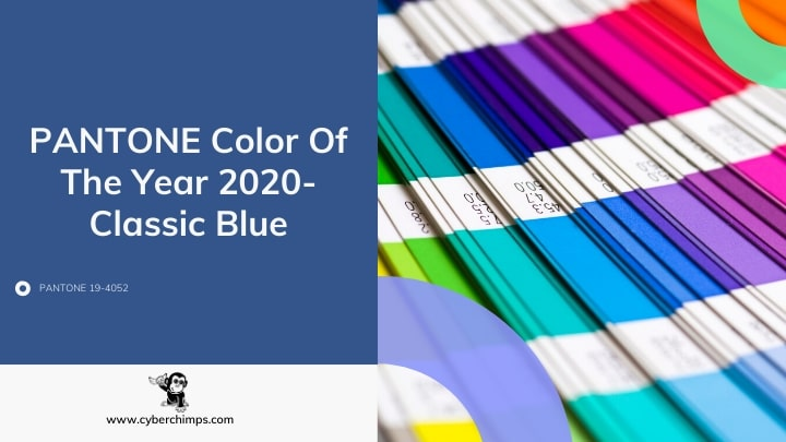 PANTONE Color Of The Year 2020- Classic Blue