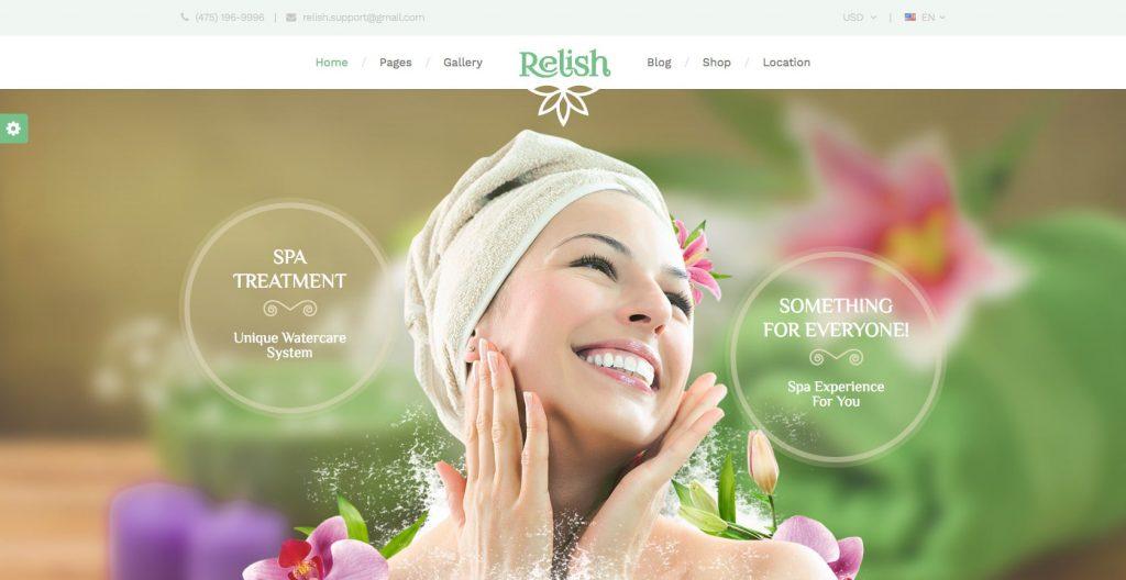 Relish- WordPress theme