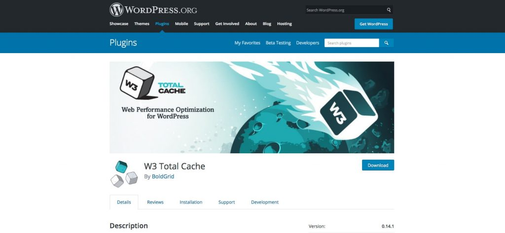 W3 Total Cache – WordPress plugin WordPress.org