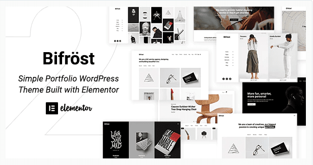 Bifrost WP Theme - Elementor