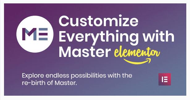 Master Crator - WP theme