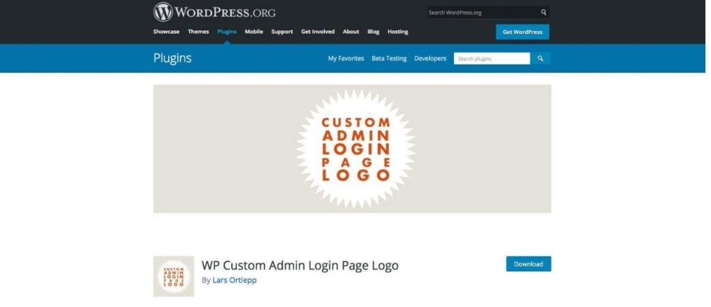 WP Custom Admin Login Page Logo