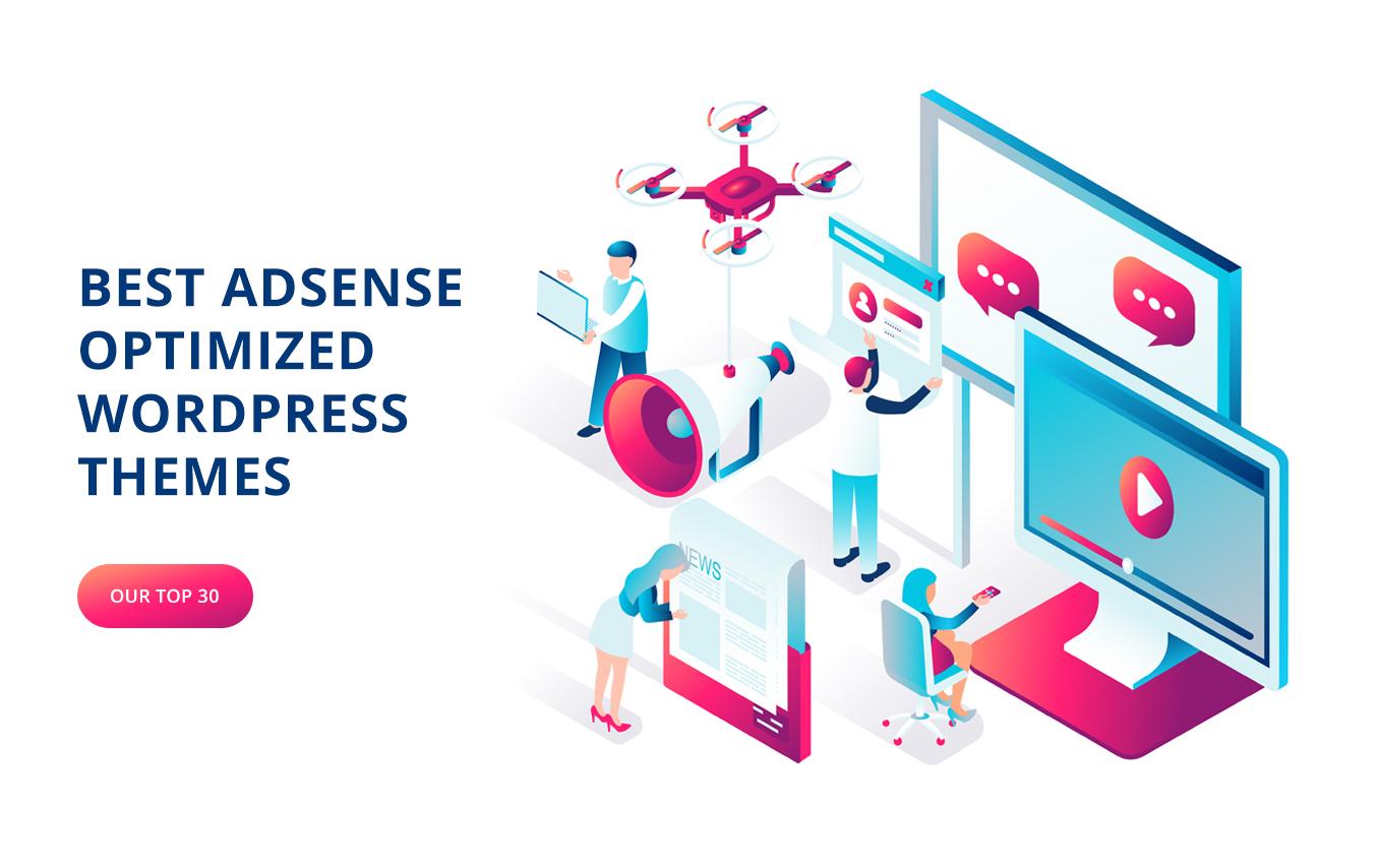 24 Adsense Optimized WordPress Themes in 2021(Free+Paid)