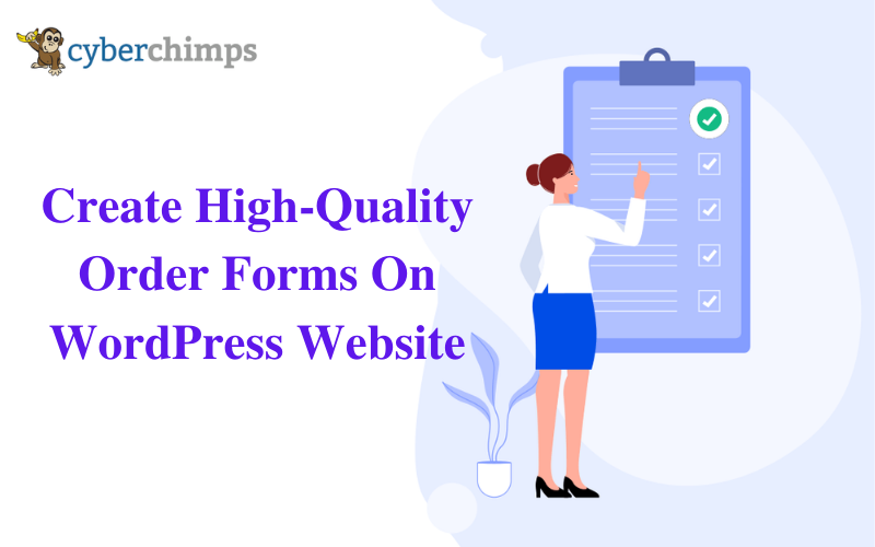 Create High-Quality Order Forms On Your WordPress Website
