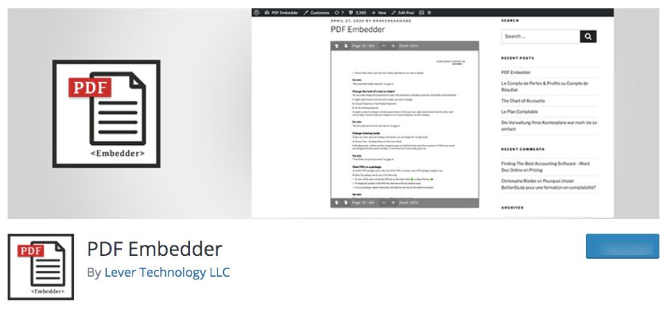 PDF Embedder WP