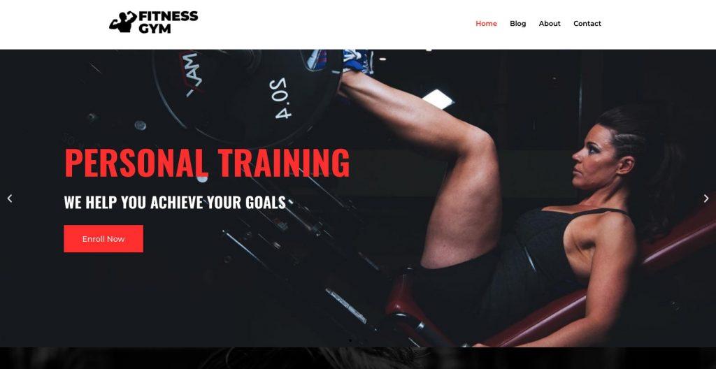 Fitness Gym- WordPress sports themes