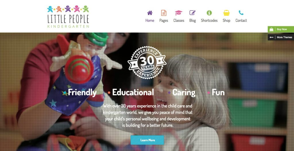 Little people- modern educational theme