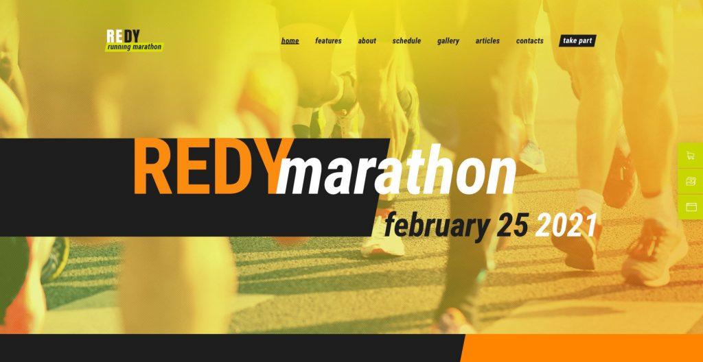 Redy- flexible sports theme for WordPress