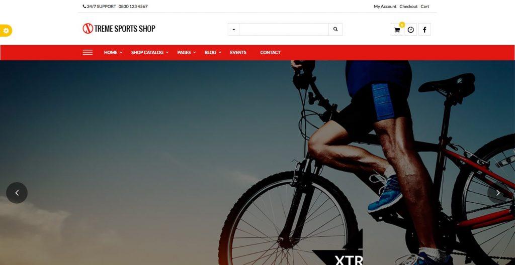 Xsports- professional WordPress sports theme
