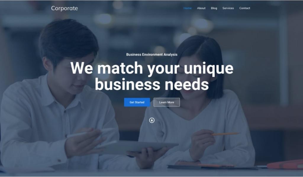 Corporate-WordPress-Theme-Template
