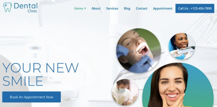 Dental-Clinic-WordPress-Theme-Template