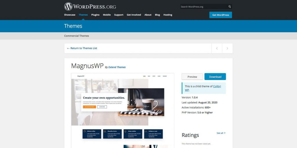 MagnusWp- Free mutipurpose WordPress theme