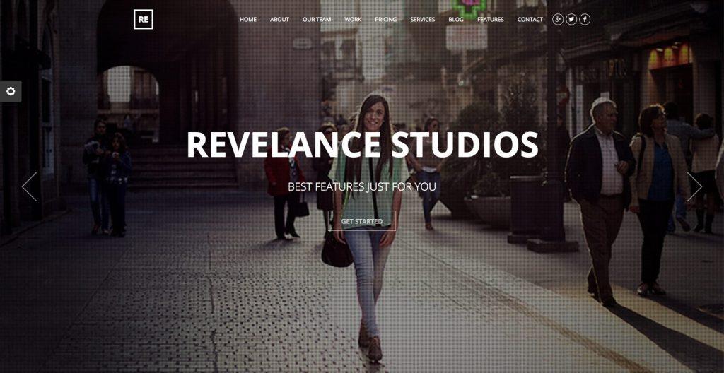 Relevance- Premium drag and drop WordPress theme