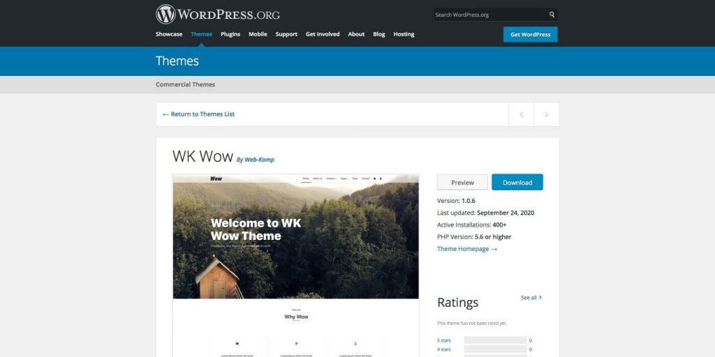 WK How- beautiful WordPress drag and drop theme