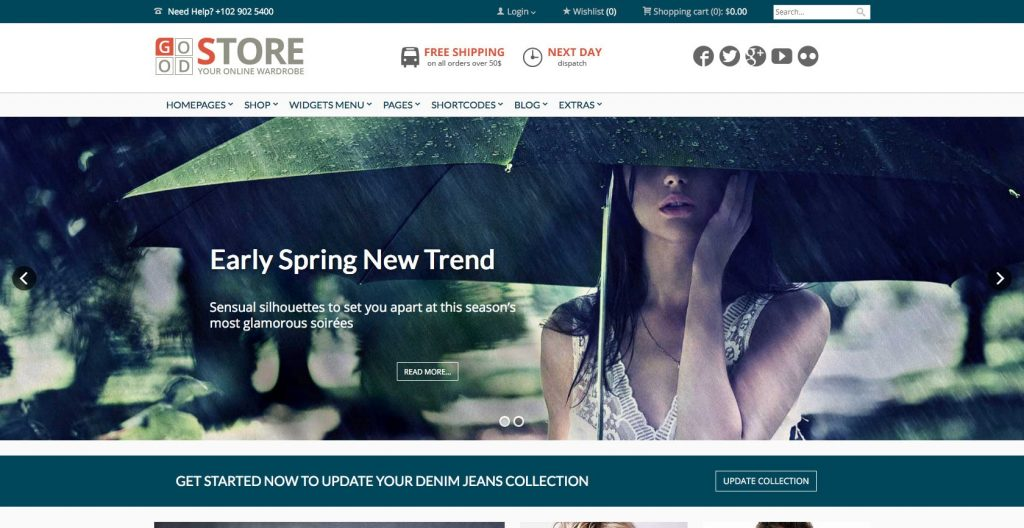 Good store- premium drag and drop WordPress themes
