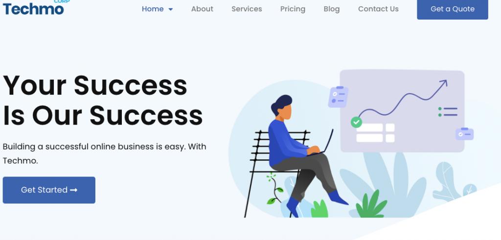 Techmo- Premium WordPress Consulting Theme