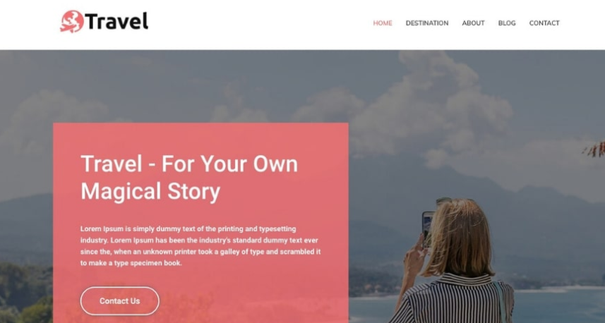 Travel Agency theme