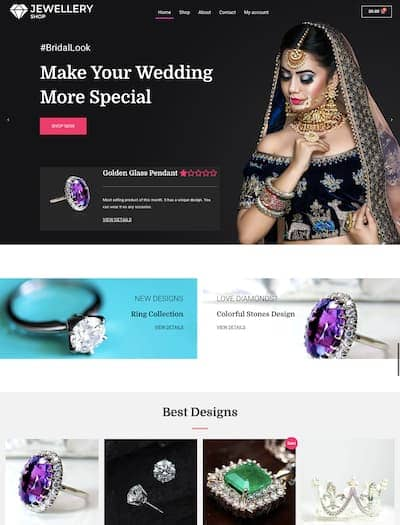 WordPress jewelry theme