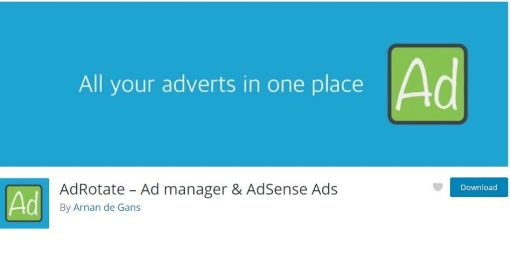 WordPress Ad Manager Plugin- Ad Rotate