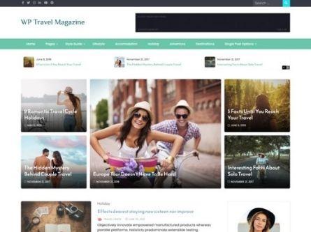 WP Travel Magazine- WordPress free Magazine theme