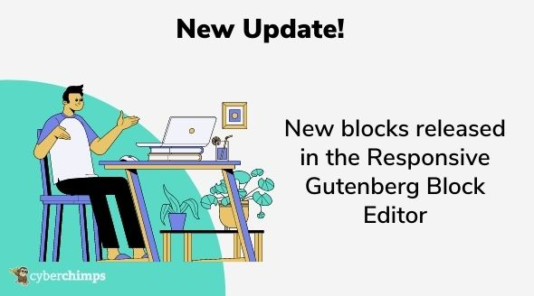 Update – New blocks released in the Responsive Gutenberg Block Editor